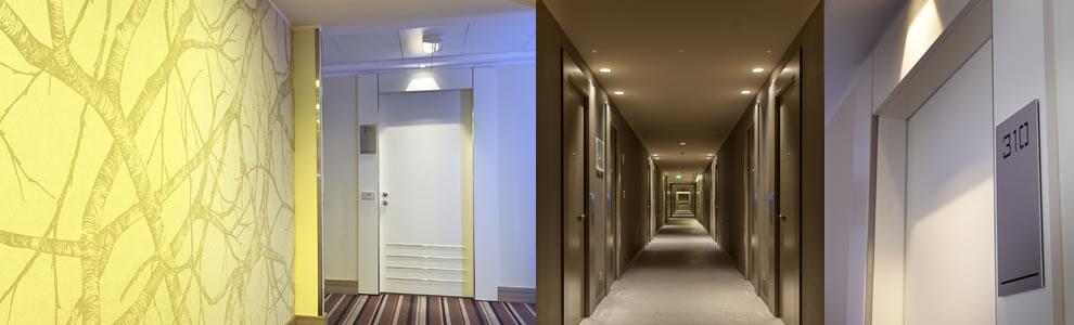 Le porte per hotel pietrelli, sono realizzate grazie ad un�esperienza di oltre cinquant�anni e ad una produzione di alta qualit� 100% Made in Italy
